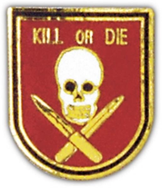 Kill or Die Skull Small Pin
