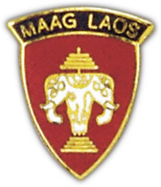 MAAG Laos Small Pin