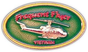 Frequent Flyer Small Pin