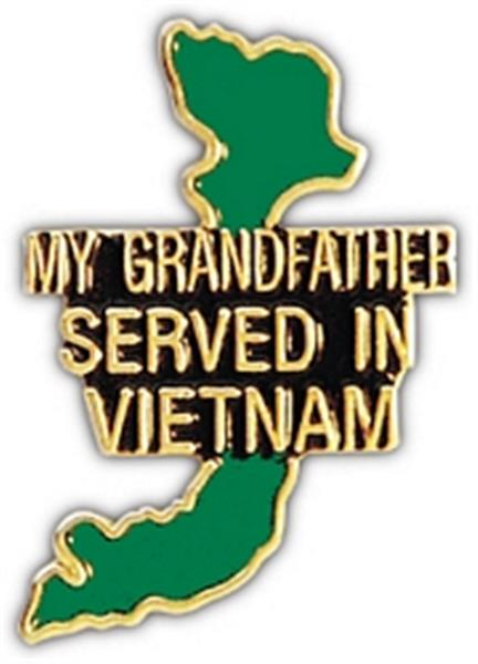 My Grandfather Served Small Pin