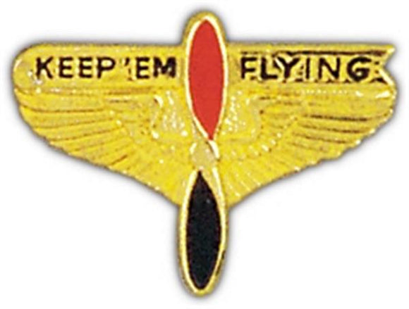 Keep'em Flying Small Pin