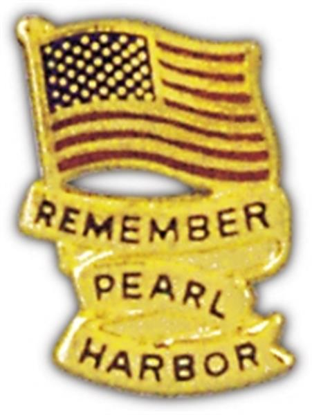 Remember Pearl Harbor Small Pin