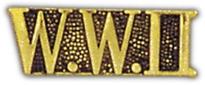 World War II Small Pin
