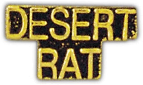 DESERT RAT Small Pin