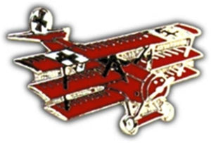 Red Barron Small Pin