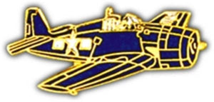 F-6F Hellcat Small Pin