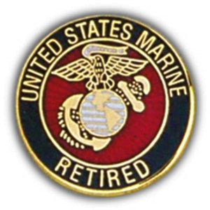 USMC Retired Small Hat Pin