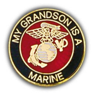 USMC Grandson Small Hat Pin