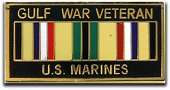 Gulf War Veteran USMC Small Pin