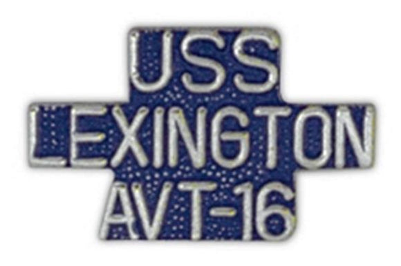 USS LEXINGTON AVT-16 Small Pin