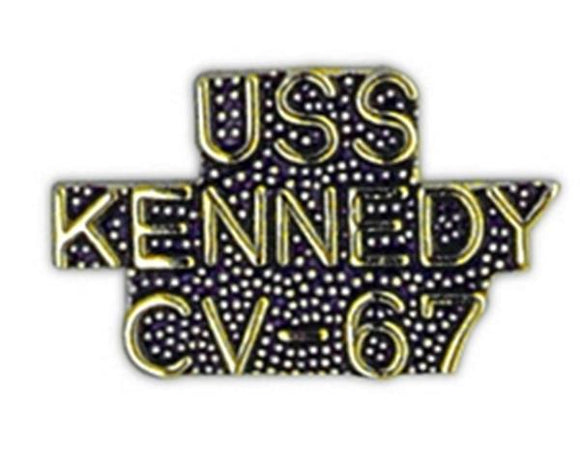 USS KENNEDY CV-67 Small Pin