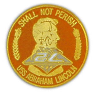 USS Abe Lincoln Small Pin