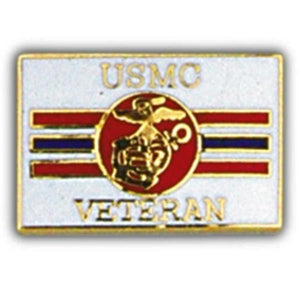 USMC Veteran Small Hat Pin