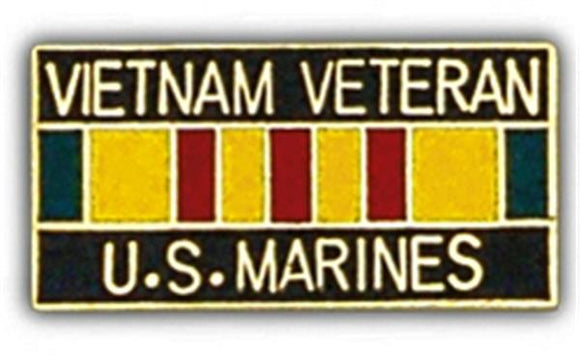 Vietnam Vet USMC Small Hat Pin