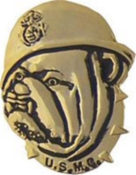 USMC Bulldog Small Hat Pin