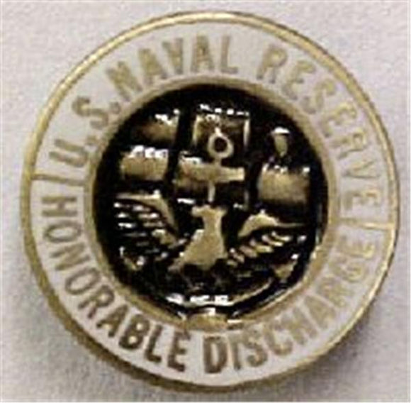 USNR Honorable Discharge Small Pin