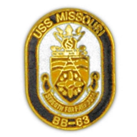 USS Missouri Small Pin