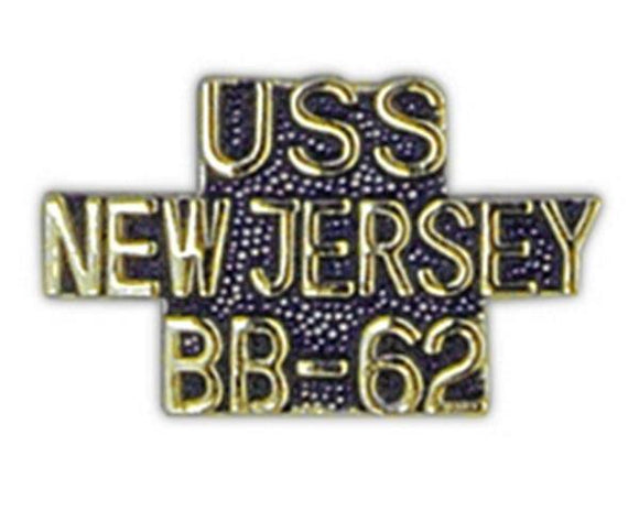 USS NEW JERSEY BB-62 Small Pin