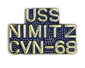 USS NIMITZ CVN-68 Small Pin