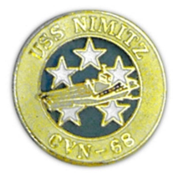 USS Nimitz Small Pin