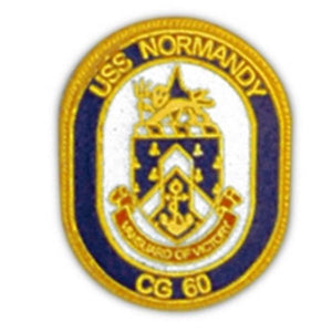 USS Normandy Small Pin