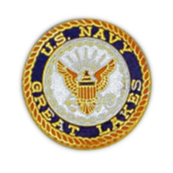 USN Great Lakes Small Pin