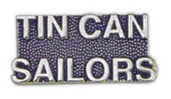 TIN CAN SAILORS Small Pin
