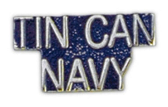 TIN CAN NAVY Small Pin