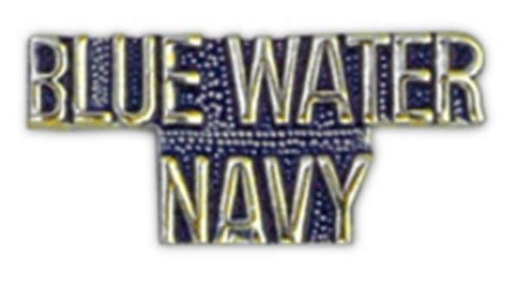 BLUE WATER NAVY Small Pin