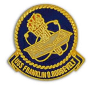USS Franklin Roosevelt Small Pin