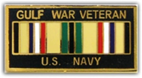 Gulf War Veteran USN Small Pin
