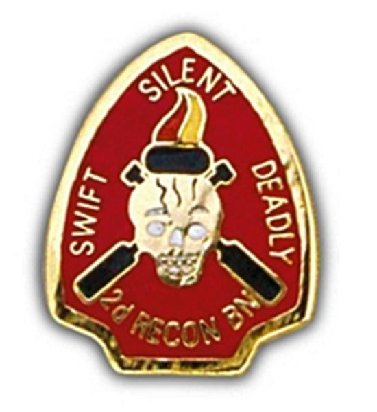 2nd Recon BN Small Hat Pin
