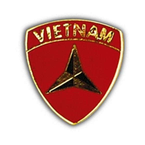 3rd Marine Division Vietnam Small Hat Pin