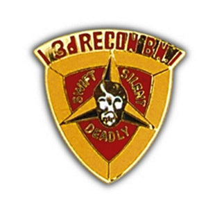 3rd Recon BN Small Hat Pin