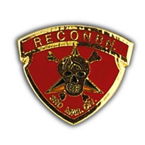 3rd Marine Recon Small Hat Pin