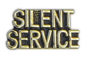 SILENT SERVICE Small Pin