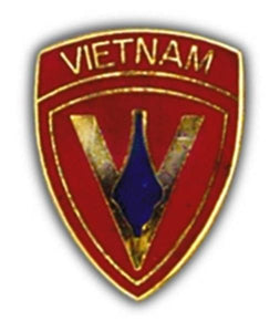 5th Marine Vietnam Small Hat Pin