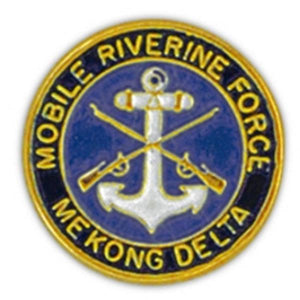 Mobile Riverine Force Small Pin
