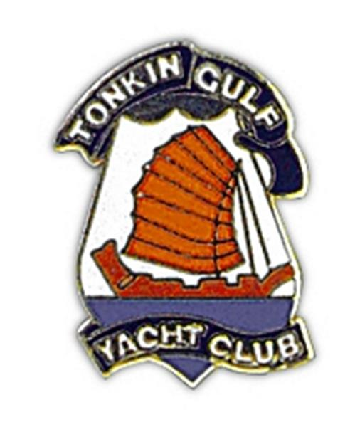 Tonkin Gulf Y.C. Small Pin