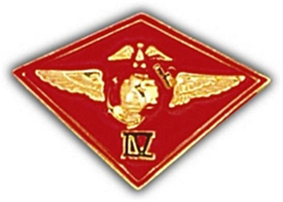 4th MAW (Marine Air Wing) Small Hat Pin