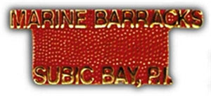Marine Barracks Small Hat Pin