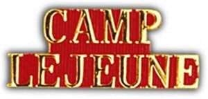 Camp LeJeune Small Hat Pin