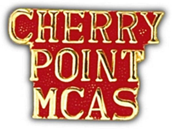 Cherry Point Small Hat Pin