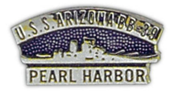 USS Arizona Small Pin