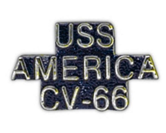 USS AMERICA CV-66 Small Pin