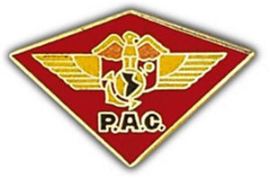 HQ PAC Air Wing Small Hat Pin