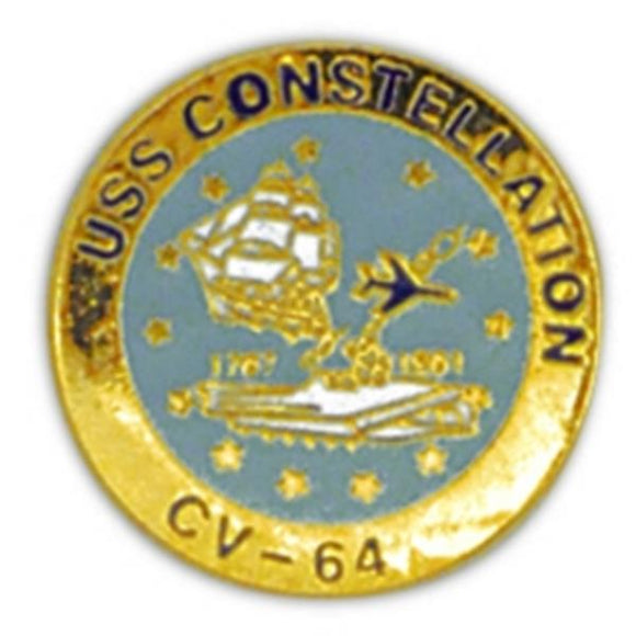USS Constellation Small Pin