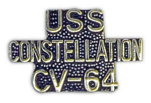USS CONSTELLATION CV-64 Small Pin