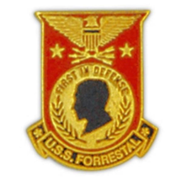 USS Forrestal Small Pin