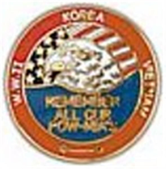 Remember Our POW-MIA Small Pin